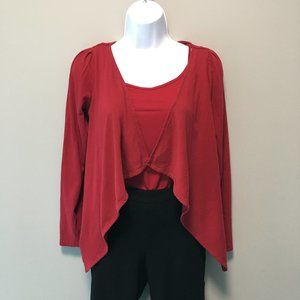 Guess Shrug Red Size Small